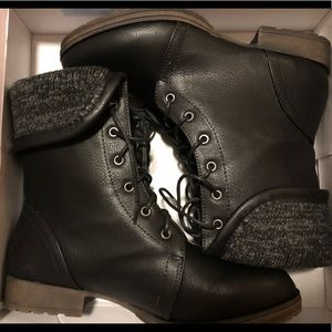 Shoes - BLACK BOOTIES SIZE 9 WINTER/FALL BOOTS
